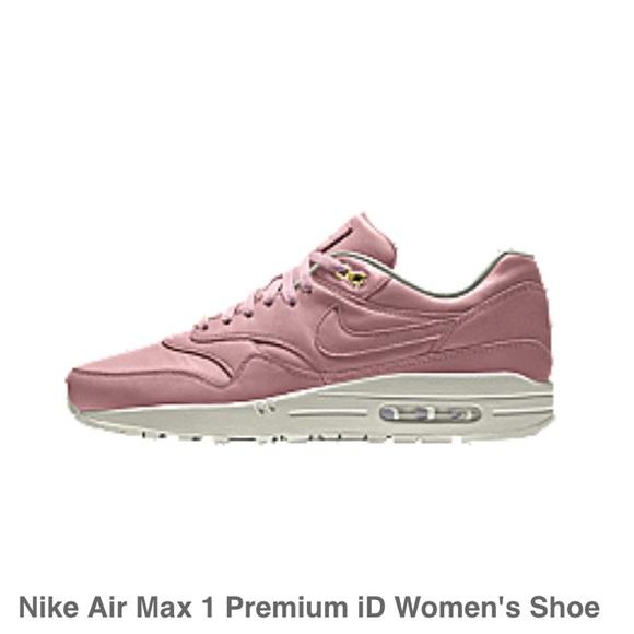 nike air max 1 premium womens pink